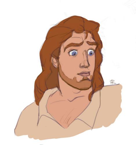 Prince Adam's Sideburn