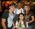 Prince Jackson, ?, Blanket Jackson and Paris Jackson in Bahamas 2011  - blanket-jackson photo