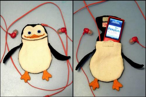 Private pinguin, penguin Pouch