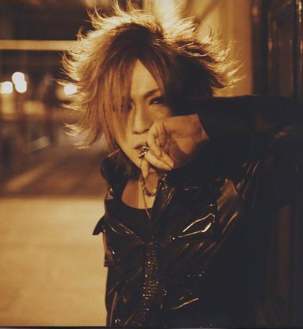 The Gazette achtergrond possibly with a well dressed person called RUKI