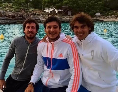 Rafa Nadal has now fatter body..