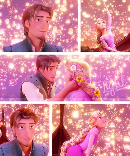Rapunzel và Flynn