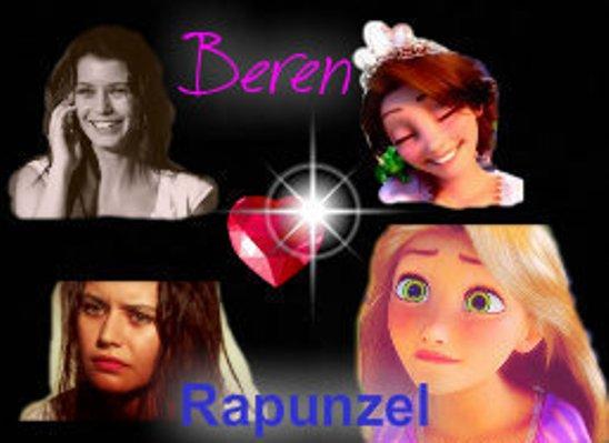 Rapunzel's look-alike Turkish actress: Beren Saat