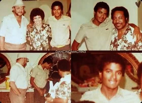 Rare Michael Jackson with short hair