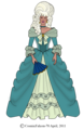 Raya's 1700s Gown
