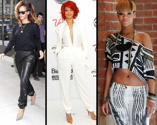 Rihanna's awsome fashion sense