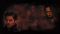 Rumpelstiltskin &amp; Captain Hook - once-upon-a-time wallpaper