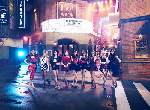S.M.Entertainment wallpaper containing a multiplex and a street entitled SNSD