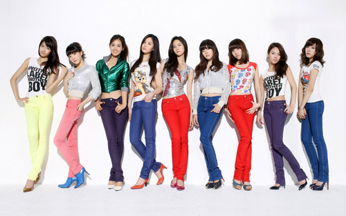S.M.Entertainment wallpaper possibly containing long trousers, a well dressed person, and a leisure wear titled SNSD