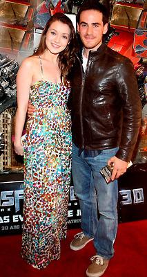 Sarah Bolger (Aurora) and Colin O'donoghue (Captain Hook)