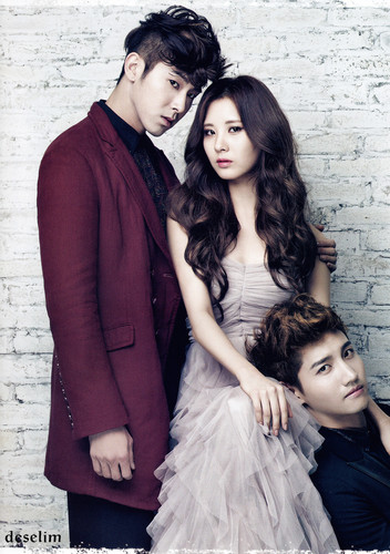 Seohyun & TVXQ for 2012 November Issue of Ceci