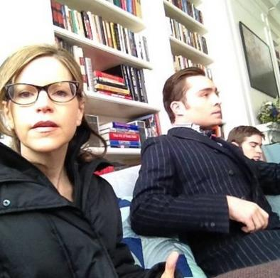 Set foto - season 6 Gossip Girl