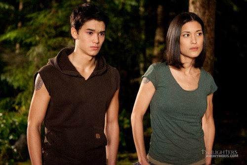 Seth and Leah Clearwater - BD part 1