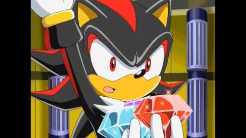 Shadow the hedgehog...i Cinta it