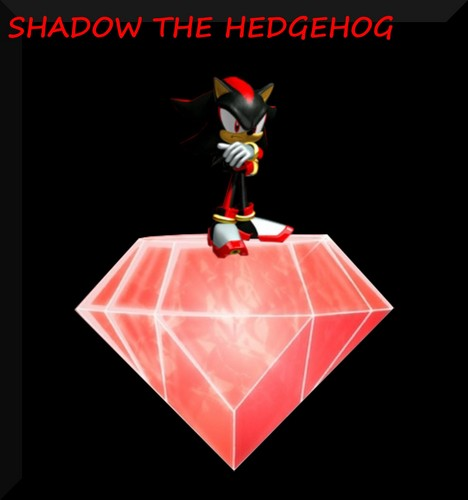 Shadow the hedgehog...i upendo it