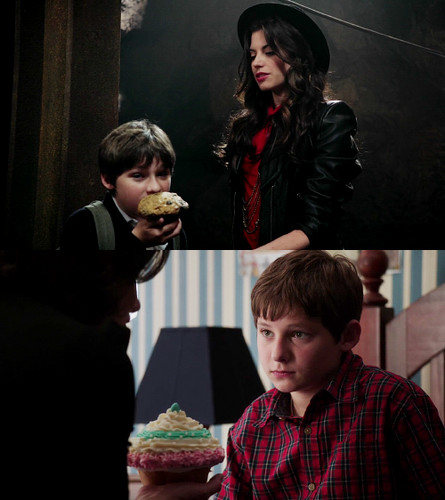 So you'll eat Ruby's lame-ass cupcake but not your mom's super awesome one?