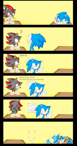 Sonic's Drawing