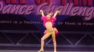 Sophia Lucia Performing 'Let Me Entertain You'
