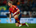 Spain {1} - france {1} 16.10.2012 - fernando-torres photo