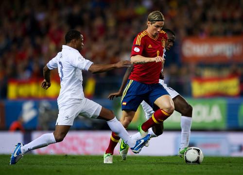 Spain {1} - france {1} 16.10.2012