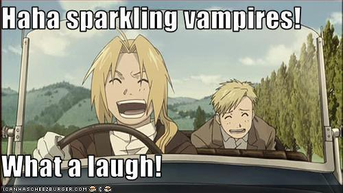 Spakling Vampires...