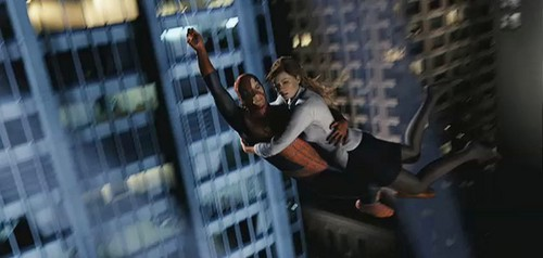 Spider-Man wallpaper possibly containing a street, a business district, and a penal institution called Spiderman 3 Screencaps