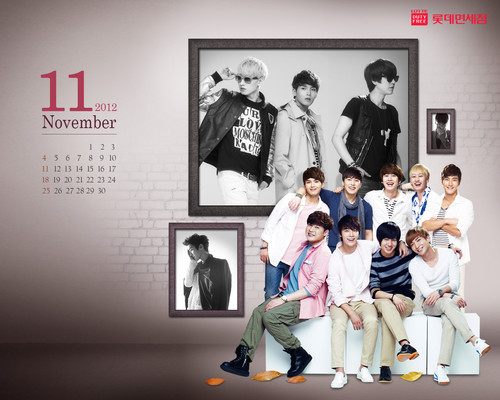 Super Junior wallpaper entitled SuJu ~ 2012