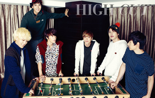 SuJu for High cut ~!