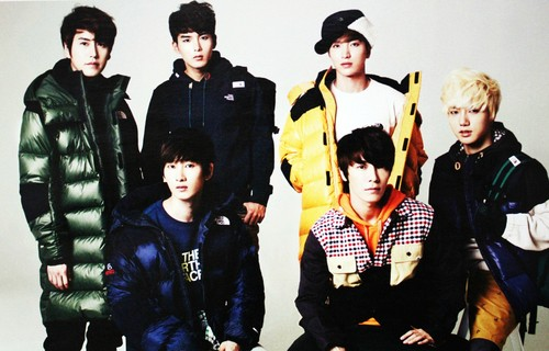 SuJu for High cut~!