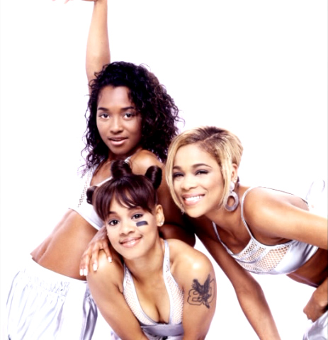 TLC (Music) wallpaper containing a portrait and skin titled TLC