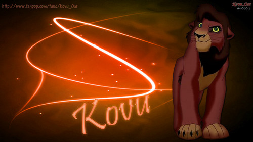 TLK Adult Kovu Graphic Art wallpaper HD