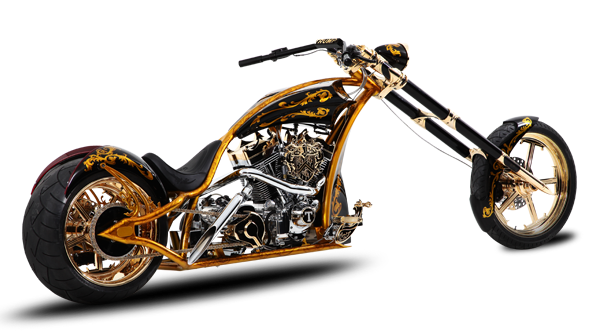 Motorcycles trump custom chopper