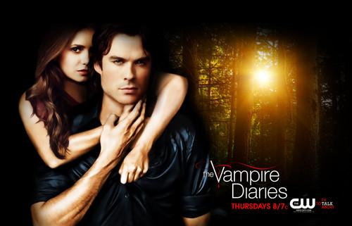 TVD. 4 season poster