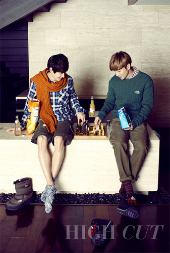 Teukie & Hyukie ~ High Cut