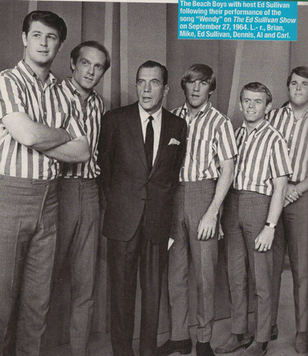 The strand Boys & Ed Sullivan