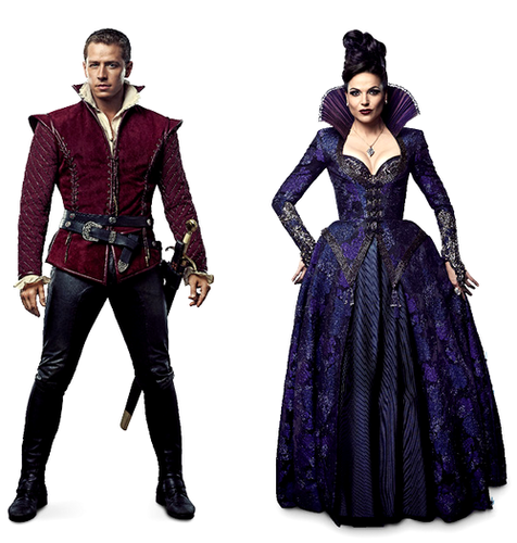 The Evil Queen & Charming