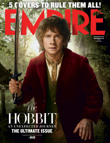 The Hobbit - Empire Covers