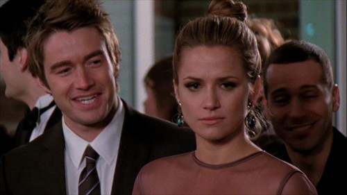 Clay and Quinn wallpaper containing a business suit titled The Other Half of Me