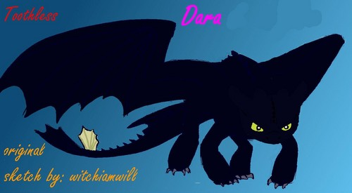 Toothless made by me