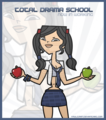 Total drama school - tdi-heather fan art