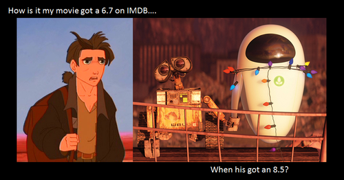Treasure Planet vs. WALLE