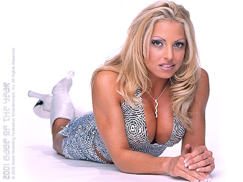 trish stratus fondo de pantalla with a portrait titled Trish Stratus Photoshoot Flashback