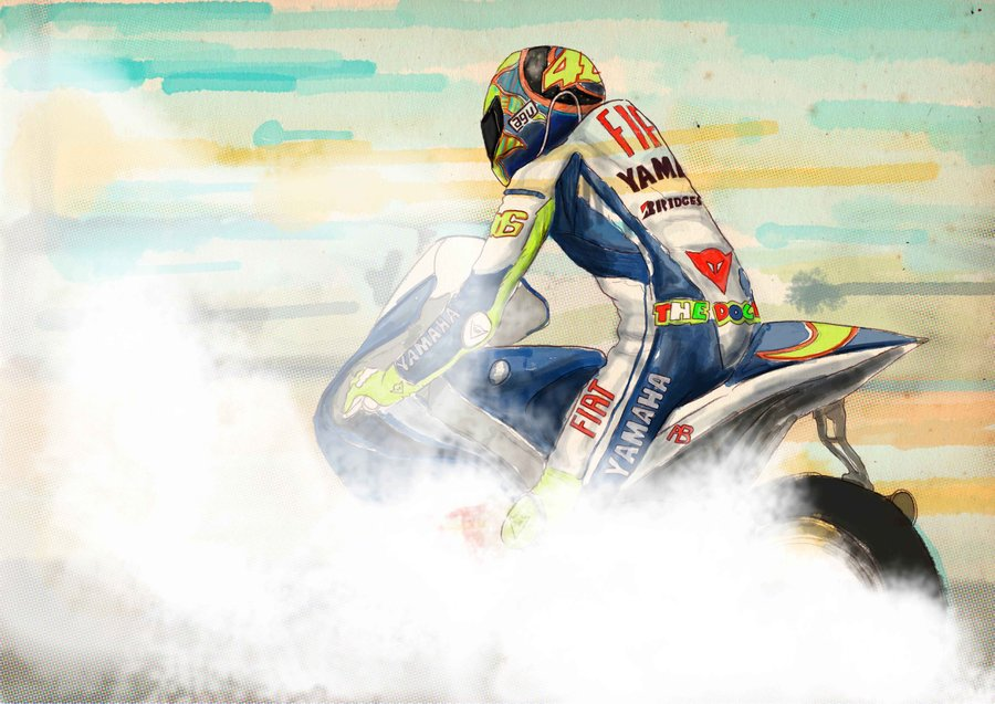 Hd wallpaper rossi - Vr 46 Valentino Rossi Fan Art 32511555 Fanpop