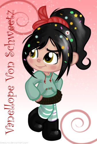 Vanellope वॉलपेपर entitled Vanellope and ralph