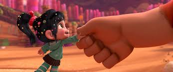 Vanellope von Schweetz and Wreck-It Ralph