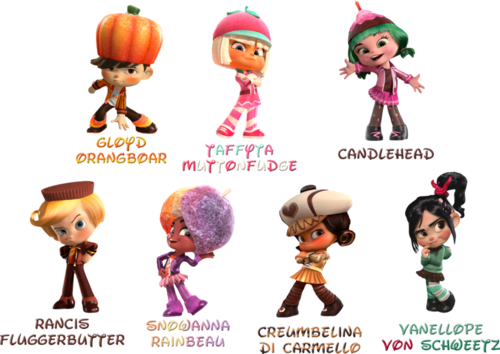 Wreck-It Ralph वॉलपेपर entitled Vanellope