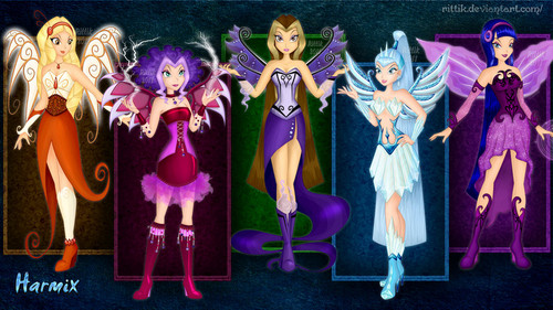 o clube das winx wallpaper entitled Villain Harmix