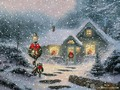 christmas - Vintage Christmas wallpaper