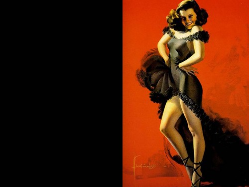 Vintage Pin Up Girls