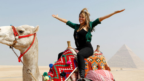 Lilian Garcia wallpaper containing a camel and an arabian camel called WWE Worldwide 2012 - Egypt